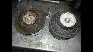Remplacement des supports moteur Mercedes-BENZ (w211).