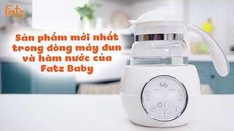 Máy đun và hâm nước pha sữa điện tử FB3505SL | FATZBABY