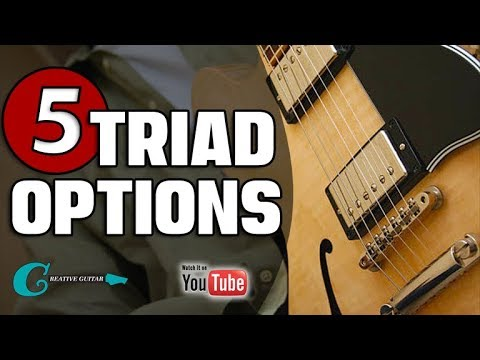 5 Ways to Improve Diatonic Triads (w/TAB)