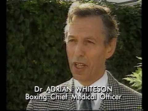 Michael Watson UK newsclips after 2nd...