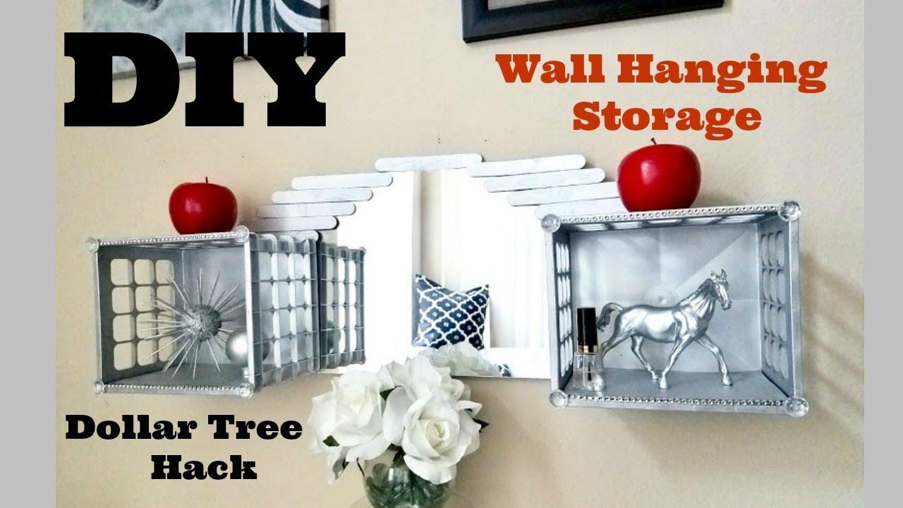 Diy Mirror Room Storage And Organization Using Dollar