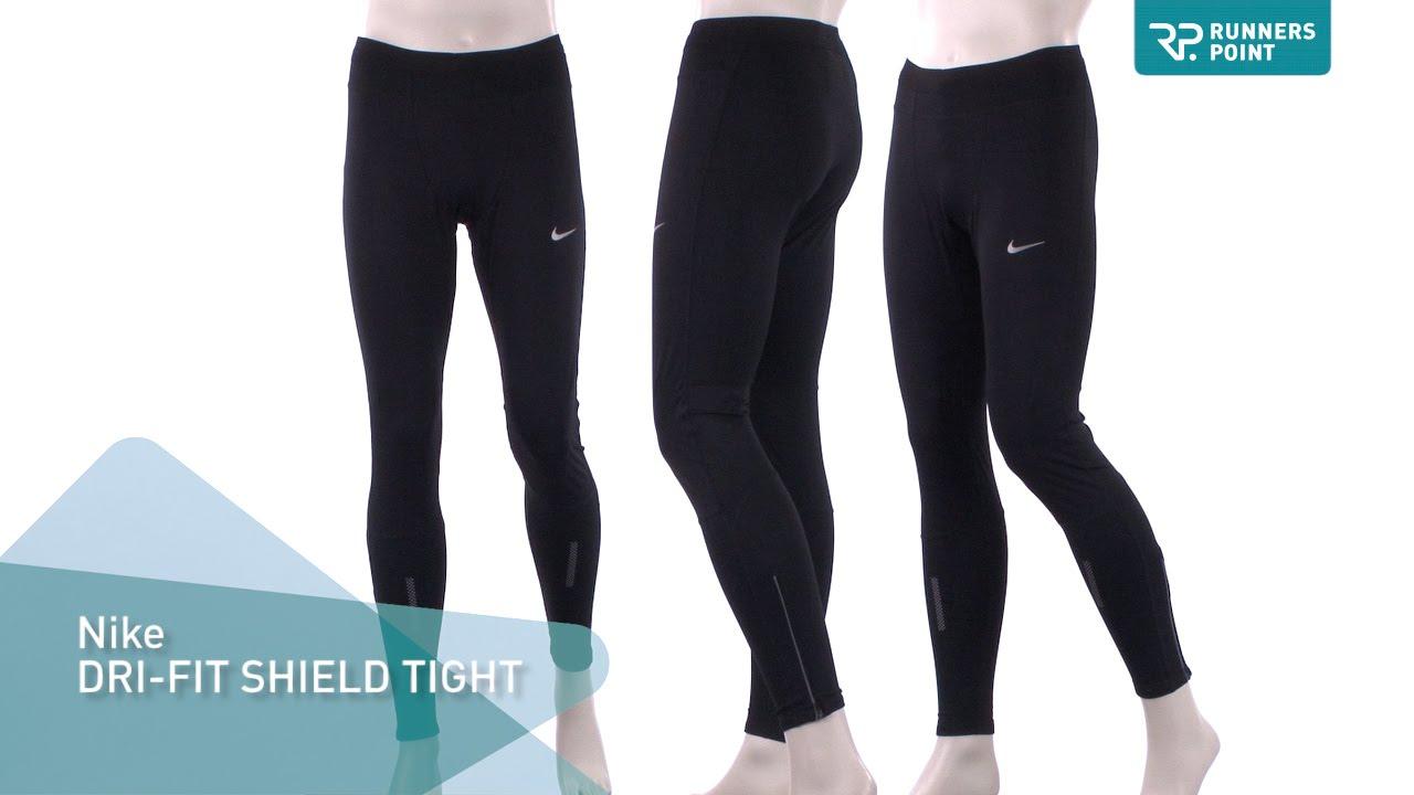 d304b4ac7df0 Nike DRI FIT SHIELD TIGHT - YouTube