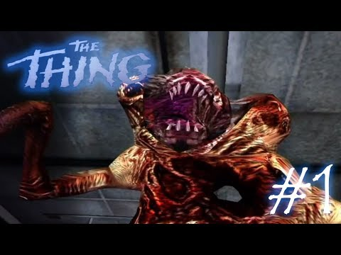 ALIENS ARE IN THE ANTARCTIC! | The Thing | #1