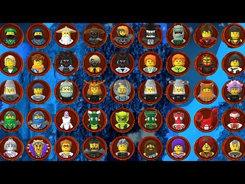 The LEGO Ninjago Movie Videogame - All Characters