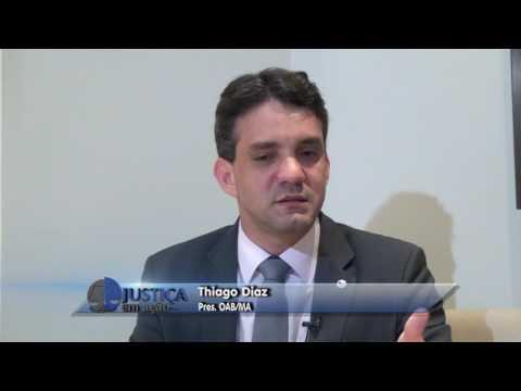 ENTREVISTA COM DR. THIAGO DIAZ JUSTIÇA EM AÇÃO 08 07 17