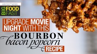 This Bourbon Bacon Popcorn Recipe Rocks!