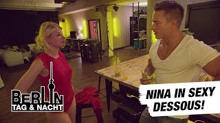 Berlin - Tag & Nacht - Nina in sexy Dessous! #1469 - RTL II