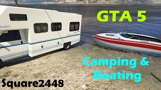 GTA 5: Camping & Boating