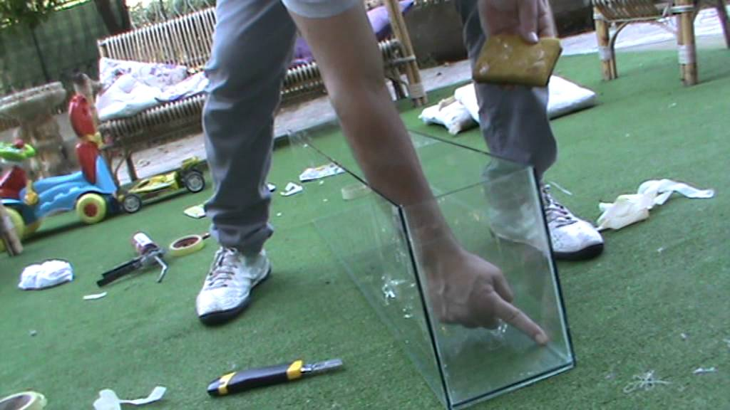 acquario fai da te sigillatura - youtube - Plexiglass Per Acquario Fai Da Te