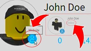 OMG! JOHN DOE is ONLINE in Roblox!!!!
