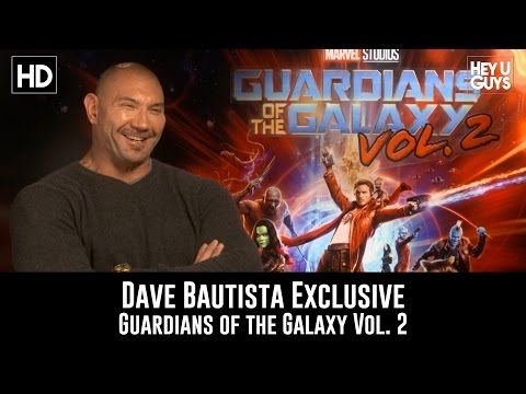 Dave Bautista Exclusive Interview - Guardians of the Galaxy Vol. 2