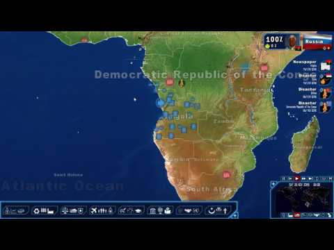 Geopolitical Simulator 4: African Diamond Cartel pt. 14 - Syrian Situation Worsens