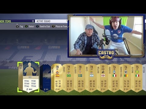 ICON IN A PACK TOTY LIGHTNING ROUNDS FIFA 18