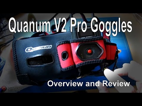 RC First Look: Quanum Cyclops v2 FPV Goggles | Doovi