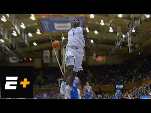 Duke's Zion Williamson puts on dunking clinic for Cameron Crazies | College Basketball Highlights