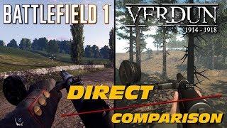 Battlefield 1 vs Verdun | Direct Comparison