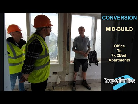 Office to Residential Conversion - A tour by Miles Bulloch and Phil Lodge [Video 3]