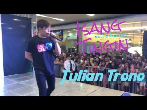 Julian Trono - Isang Tingin (Ballad Version) | SM Tarlac