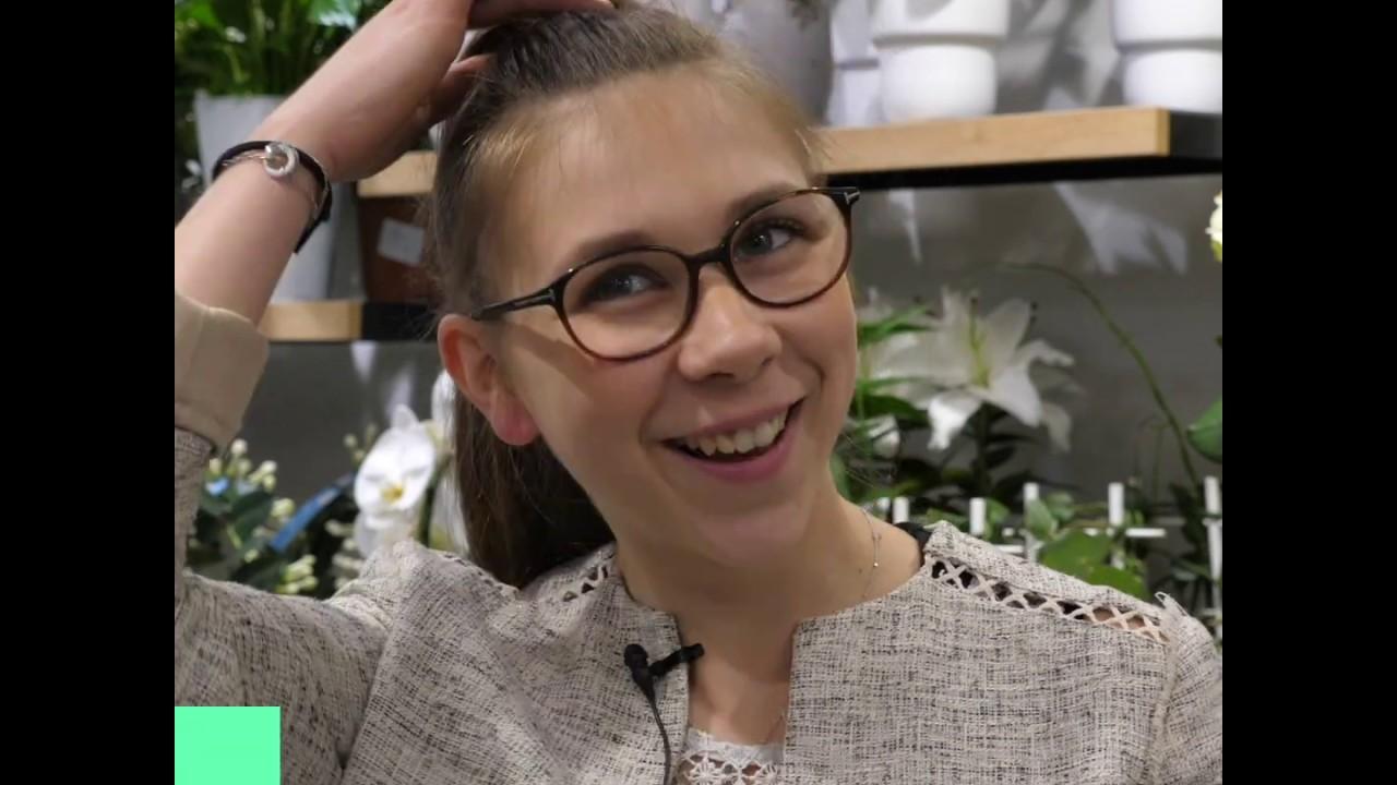 Success story : Sarah Jamin, apprentie puis responsable de boutique Monceau Fleurs.
