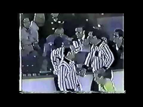 1974 - Blackhawks @ Bruins: Sanderson & Orr Tossed