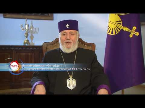 His Holiness Karekin II Catholicos of All Armenians Urges Support of Telethon 2017