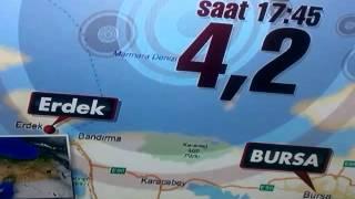 İstanbul da deprem 16.11.2015