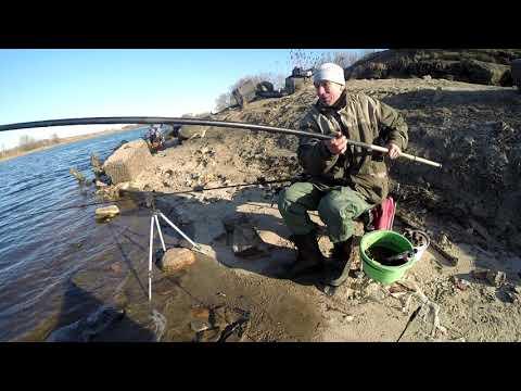 Рыбалка на Москве-реке в марте. Мороз и Ветер. Жесть. 24 марта 2020