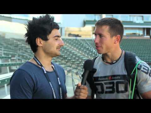 Interview 2: Dan Bailey - 2012 Reebok CrossFit Games