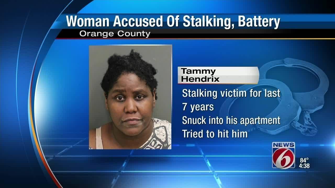 Woman accused of stalking, beating ex-boyfriend - YouTube