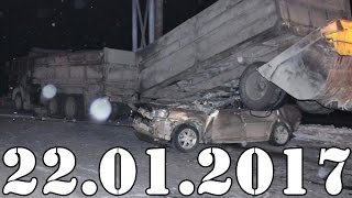 Подборка АВАРИИ и ДТП январь 22.01.2017. Accidents Car Crash. #423