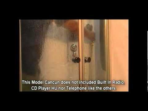 How to turn your shower into a steam/and sauna room (model Cancun) 2.flv