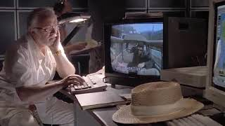 Jurassic park (1993) HD MOVIE CLIP (2/10) - Chaos theory