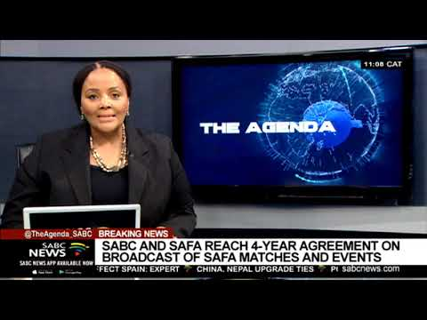 SABC and SAFA reach a 4 year agreement to broadcast SAFA games