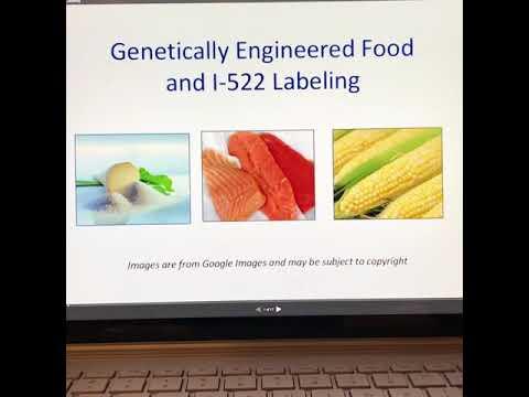 GMO Label Part 1
