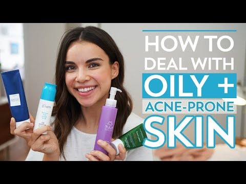 How to Deal with Oily  AcneProne Skin  Ingrid Nilsen