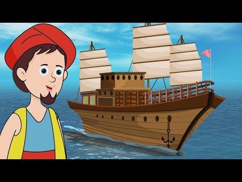 Sinbad the Sailor - सिंबाड दी सेलर - Hindi Fairy Tales - परी कथा - Pari Katha - Bedtime Stories