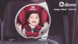 Video: Diono Easy View beebipeegel autosse