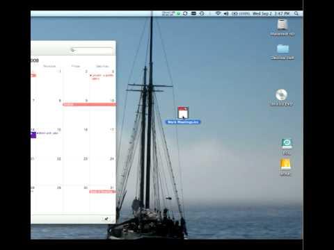 how to make reminder on mac
