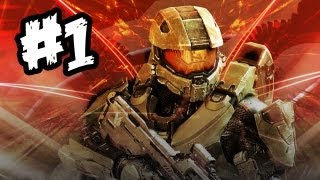 Halo 4 Gameplay Walkthrough Part 1 - Intro / Mission 1 (Xbox 360 Halo 4 Playthrough) [HD]