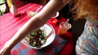 Raw Cauliflower Puttanesca