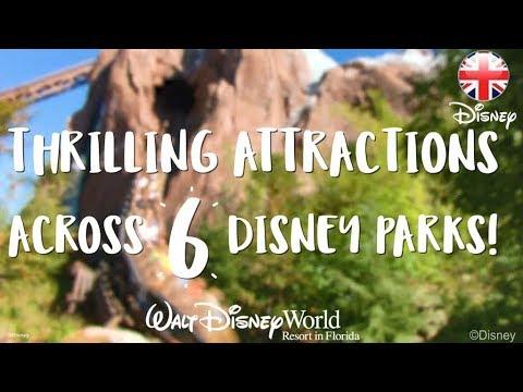 WALT DISNEY WORLD  Explore 6 Amazing Attractions At Walt Disney World Florida   Disney UK