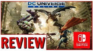 DC Universe Online Nintendo Switch Impressions