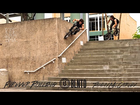 BLNTD: Forever Rolling – Tammy McCarley | Ride BMX video