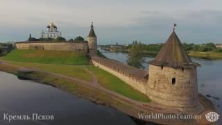 Крепости России, сьемка квадрокоптер Phantom - 4(, 2016-07-08T16:44:17.000Z)