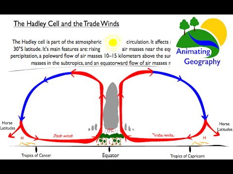 Hadley Cell, Trade Winds and Desert Formation - YouTube