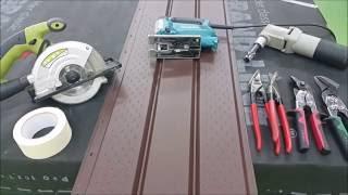 видео Чем резать шифер: нюансы, способы