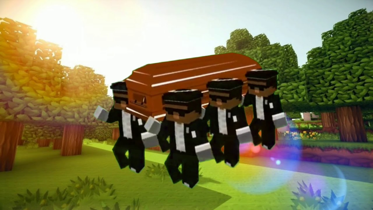 MINECRAFT COFFIN DANCE MEME DOWNLOAD - YouTube