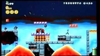 Custom New Super Mario Bros. Wii Level: Torrid Tide Beach