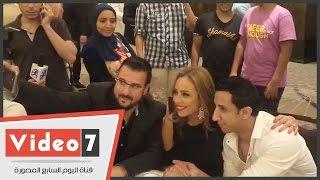 بالفيديو.. ريم البارودى: بحب أشارك فى الأعمال المحترمة