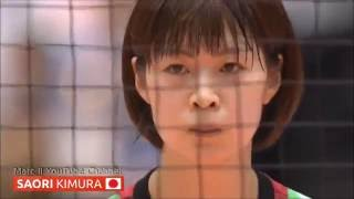 Japan - SAORI Kimura - NON-STOP | FIVB World Olympic Qualification Tournament [720p]